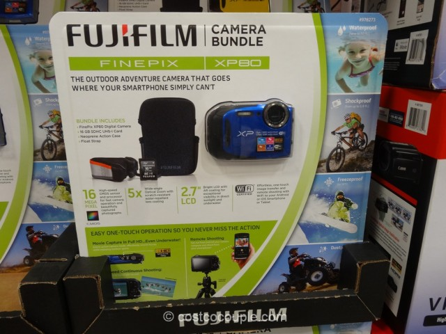 Fuji XP80 Waterproof Camera Costco 2