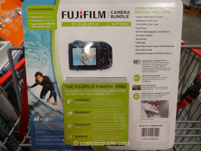 Fuji XP80 Waterproof Camera Costco 3