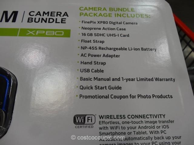 Fuji XP80 Waterproof Camera Costco 5