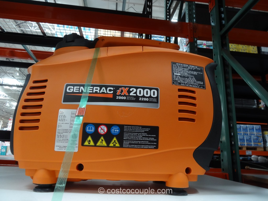 Generac iX2000 Digital Inverter Generator Costco 2