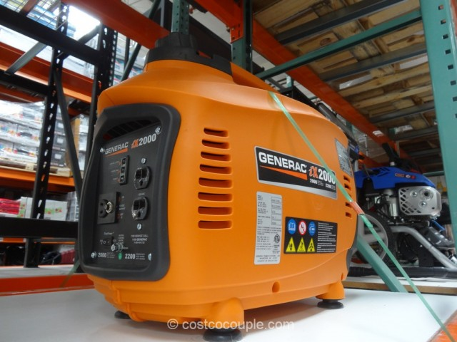 Generac iX2000 Digital Inverter Generator Costco 3