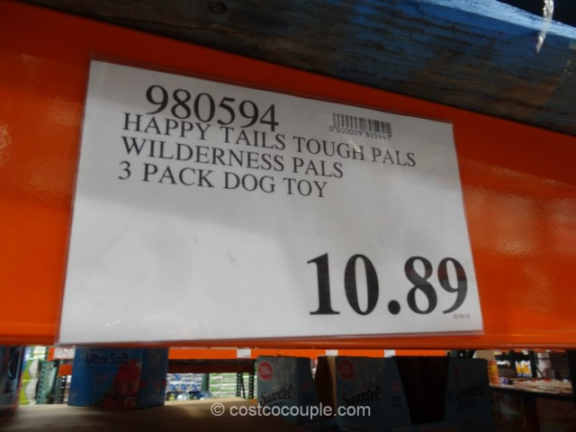 Happy Tails Wilderness Plush Pet Toys Costco 1