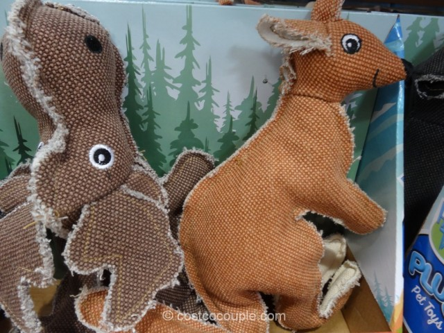 Happy Tails Wilderness Plush Pet Toys Costco 3