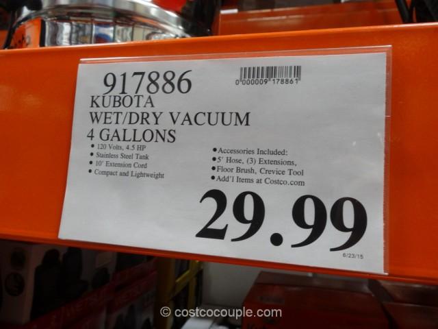 Kubota Wet Dry Vacuum