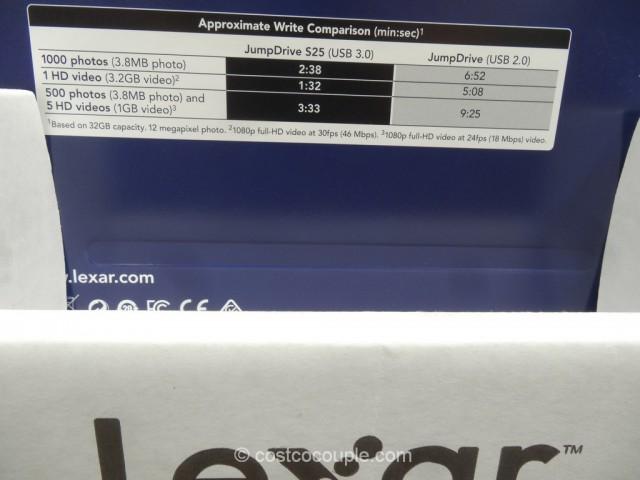 Lexar 32GB JumpDrive Costco 4