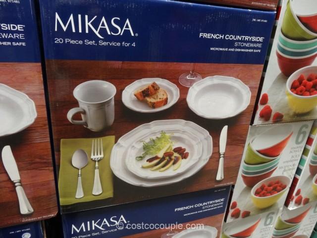 Mikasa French Countryside Dinnerware Set Costco 1