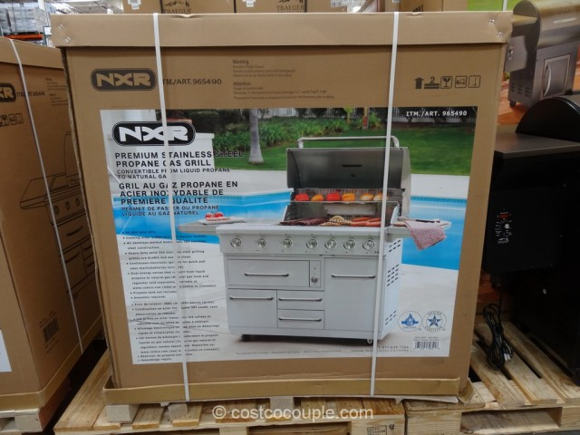 NXR 7 Burner Gas Grill Costco 3
