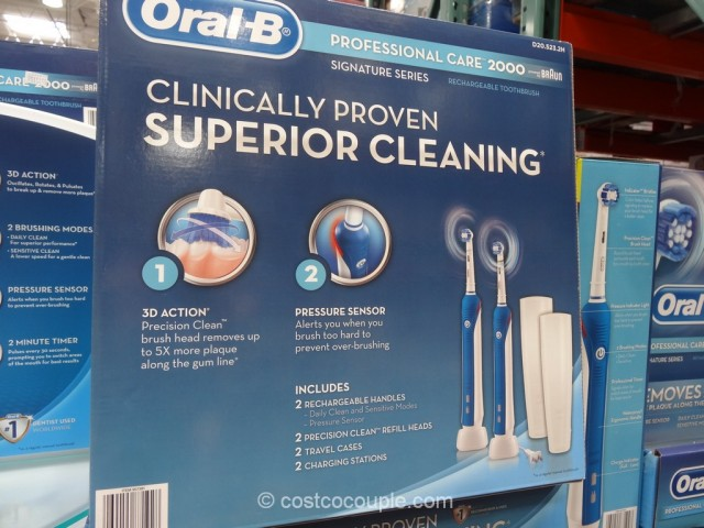 Oral B Professional Care 2000 Rechargeable Toothbrush