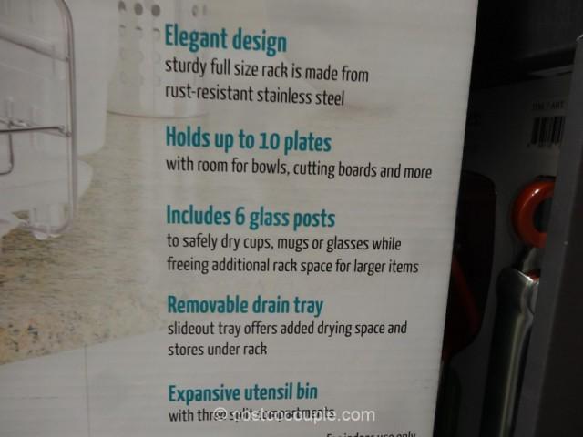 Polder Advantage Dish Rack Costco 3