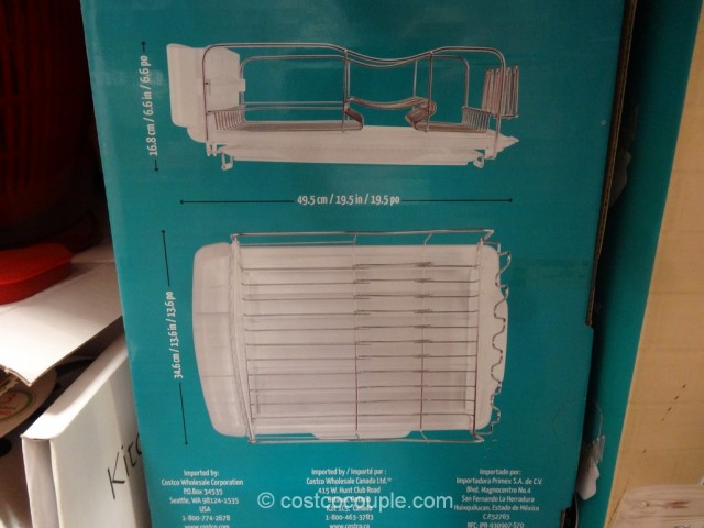 Polder Advantage Dish Rack Costco 5