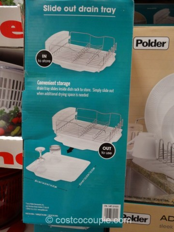 Polder Advantage Dish Rack Costco 6