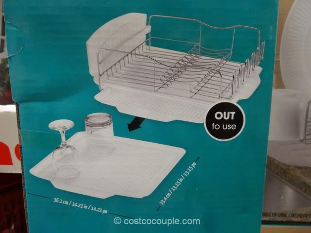 Polder Advantage Dish Rack Costco 7