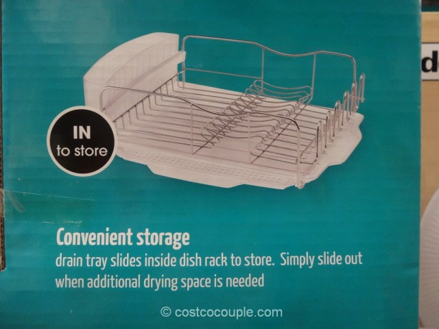 Polder Advantage Dish Rack Costco 8