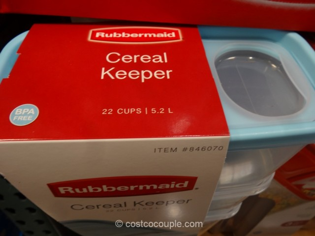 Rubbermaid Cereal Keeper Costco 2