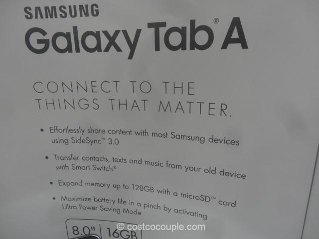 Samsung Galaxy Tab A Costco 6
