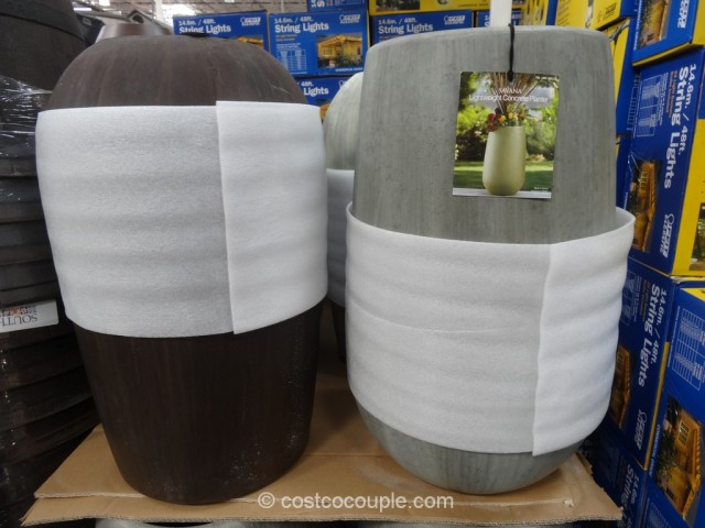 Savana Lightweight Concrete Planter Costco 2