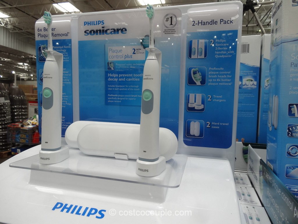 Sonicare 2 Series Plaque Control Plus Sonic Toothbrush Costco 2