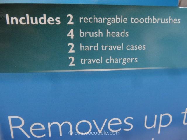 Sonicare 2 Series Plaque Control Plus Sonic Toothbrush Costco 5