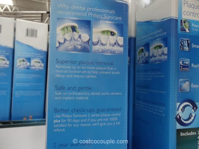 Sonicare 2 Series Plaque Control Plus Sonic Toothbrush Costco 8