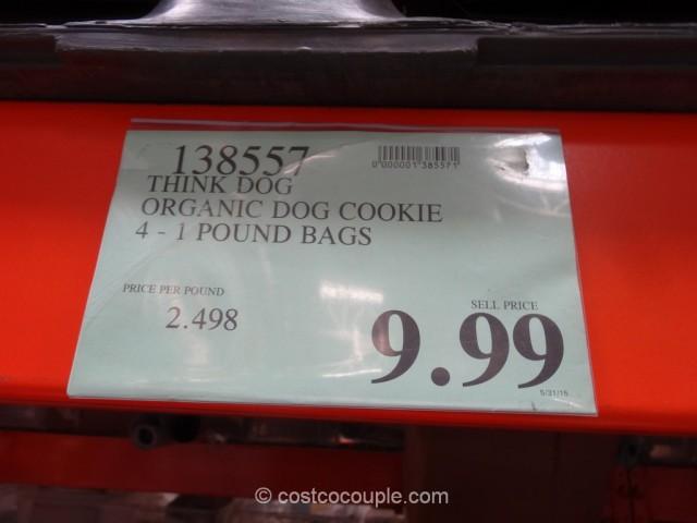 Think Dog Organic Dog Cookies Costco 1
