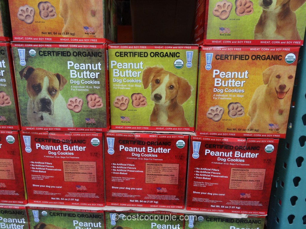 Think Dog Organic Dog Cookies Costco 2