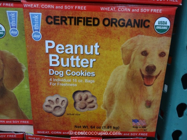 Think Dog Organic Dog Cookies Costco 3