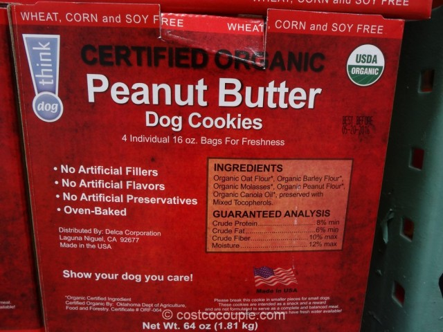 Think Dog Organic Dog Cookies Costco 4