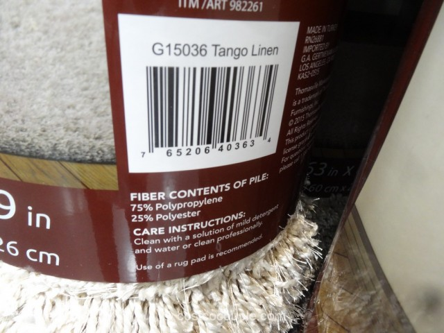 ... Thomasville Tango Luxury Shag Rug Costco 5 ...