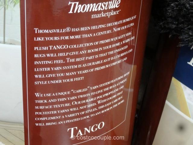 Thomasville Tango Luxury Shag Rug Costco 6