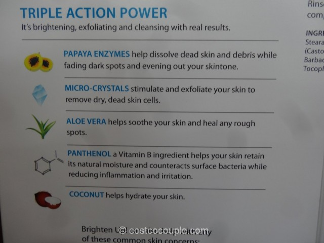 Vasanti Brighten Up Enzymatic Face Rejuvenator Cleanser Set Costco 5