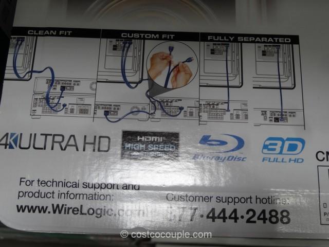 Wirelogic HDMI Cables Costco 3