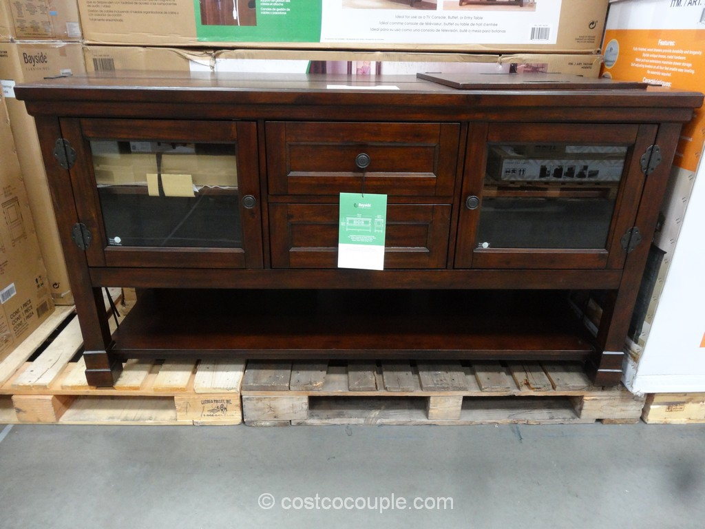 Bayside Furnishings Genova TV Console Costco 2