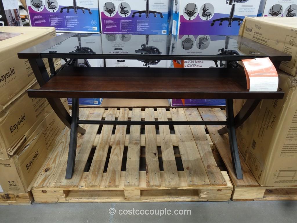 Bayside Furnishings Nalu Computer Desk Costco 2