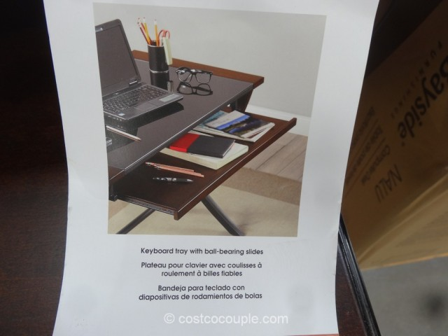 Bayside Furnishings Nalu Computer Desk Costco 7