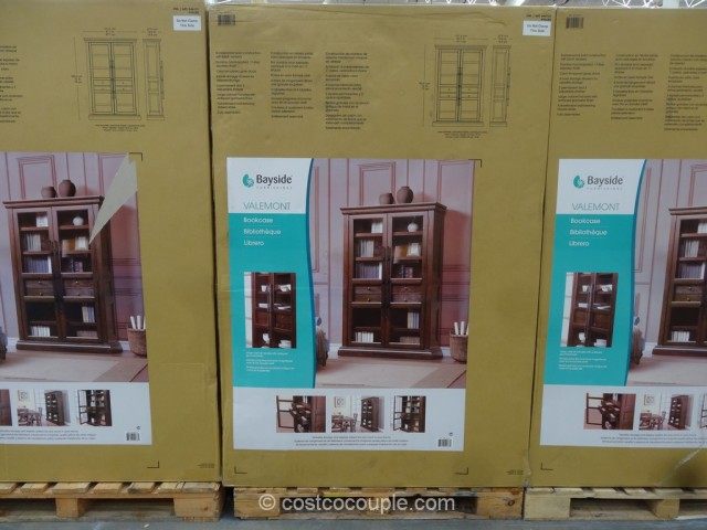 Bayside Furnishings Valemont Bookcase Costco 2