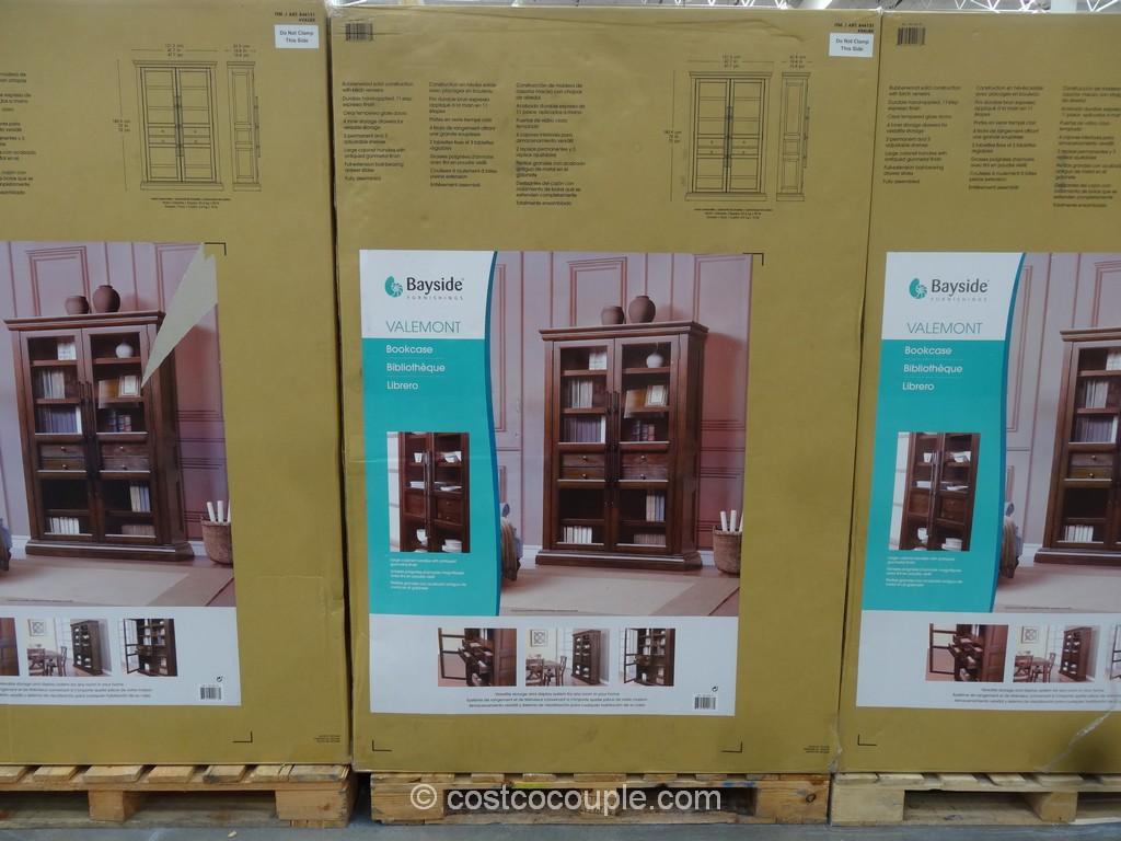 Bayside Furnishings Valemont Bookcase Costco 2
