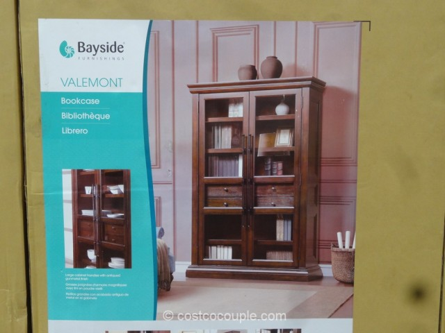 Bayside Furnishings Valemont Bookcase Costco 3