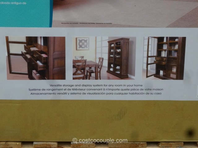 Bayside Furnishings Valemont Bookcase Costco 4