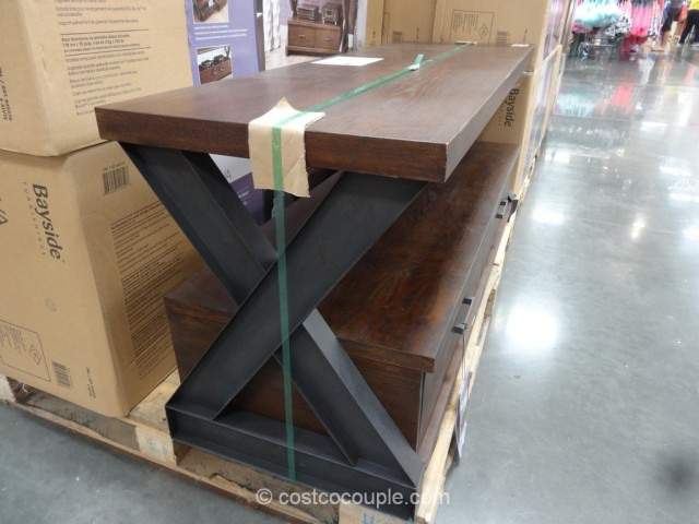 Bayside Furnishings Xiva Table Stand Costco 3