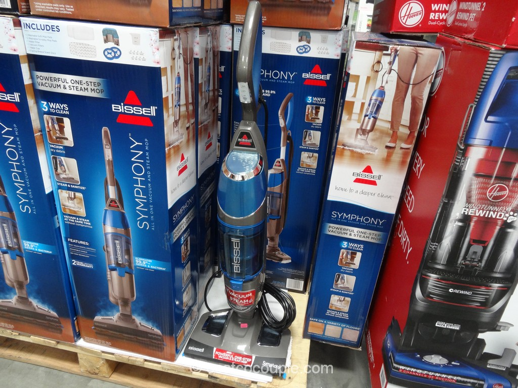 Bissell Symphony Vacuum And Steam Mop Costco 2