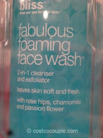 Bliss Fabulous Foaming Face Wash Costco 3
