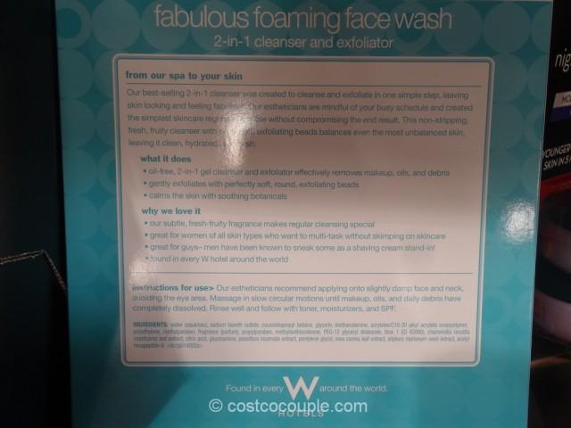 Bliss Fabulous Foaming Face Wash Costco 5