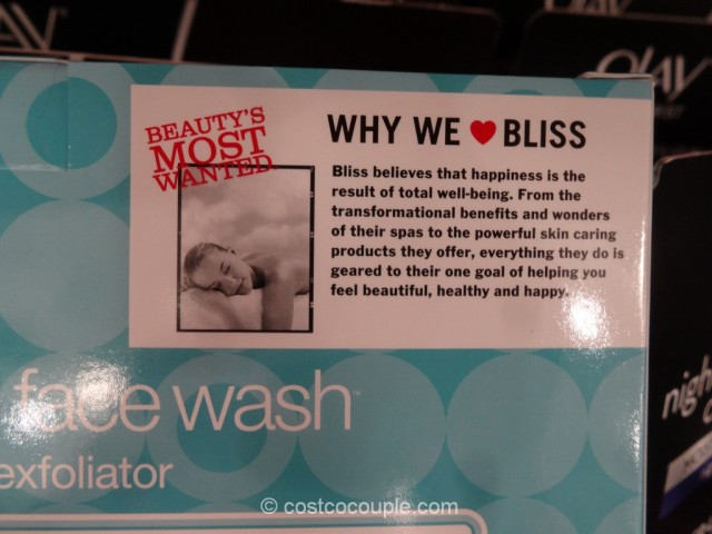 Bliss Fabulous Foaming Face Wash Costco 6
