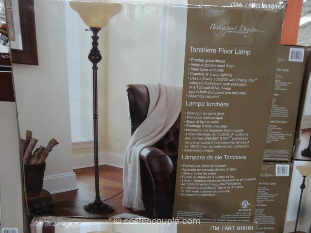 Bridgeport Designs Torchiere Floor Lamp Costco 3