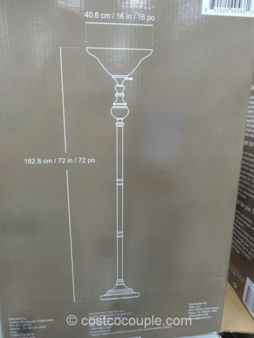 Bridgeport Designs Torchiere Floor Lamp Costco 4