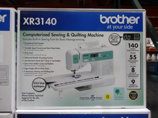 Brother XR40 Computerized Sewing Machine Impressive Brother Xr3140 Sewing Machine