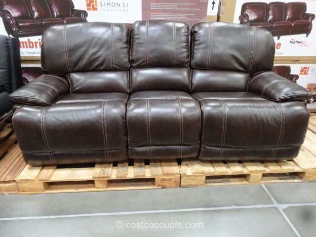 cheers clayton motion leather sofa rh costcocouple com sleeper sofa at costco sofa bed at costco