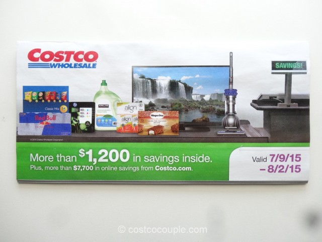 Costco July 2015 Coupon Book 1