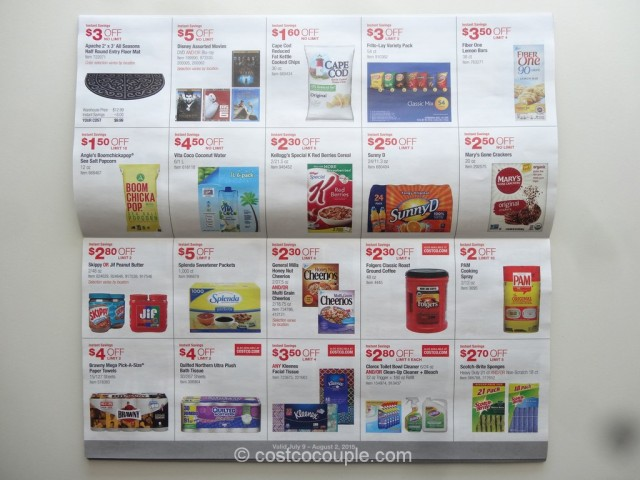 Costco July 2015 Coupon Book 5