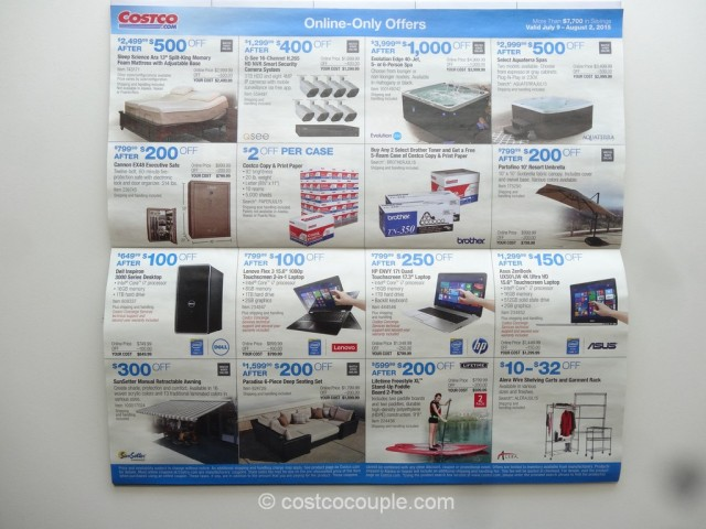 Costco July 2015 Coupon Book 8